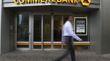 """Žiniasklaida: """"Commerzbank"""" gali uždaryti iki penktadalio skyrių"""