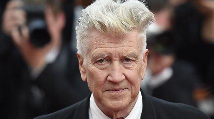 """Režisierius D. Lynchas bus apdovanotas garbės """"Oskaru"""""""