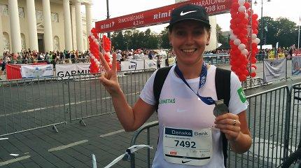 """Galiu net aš: """"pirmų kartų"""" sekmadienis – nesuvokiama, bet aš bėgau Vilniaus maratone"""