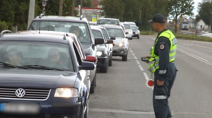 Pareigūnus apstulbino reidas mažame Lukšių miestelyje: per 3 valandas – net 33 pažeidėjai