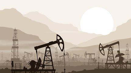 Naftos kainos ketvirtą dieną iš eilės kopia aukštyn