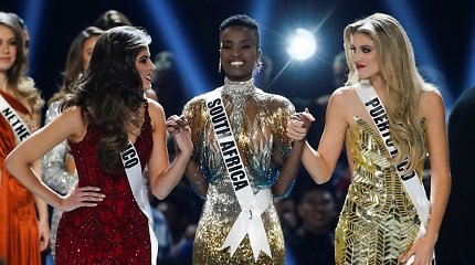 "2019-ųjų ""Mis Visata"" konkurso akimirkos"