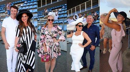 Žirgų lenktynėse Dzūkijoje – skrybėlaitėmis pasipuošusios žinomos viešnios