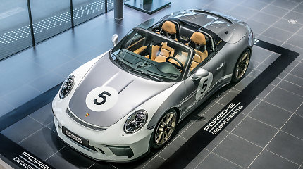"Vilniuje – galimybė susipažinti su tikrąja legenda ""Porsche 911 Speedster"""