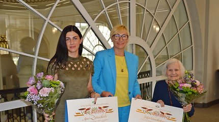 Švietimo ministrė įteikė Vaikų literatūros premiją