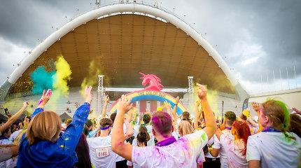"""Į sostinę sugrįžta spalvotasis """"The Color Run"""" bėgimas – dalyvauti kvies ir mažuosius"""