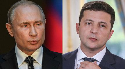 V.Putinas ir V.Zelenskis svarsto galimybę rengti naujas taikos derybas