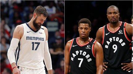 """NBA svarsto kitokį atkrintamųjų formatą: Jonas Valančiūnas kautųsi prieš """"Raptors"""""""
