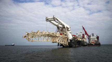 """Vokietija atkreipė dėmesį į D.Trumpo grasinimus """"Nord Stream 2"""", bet nuostatų nekeičia"""