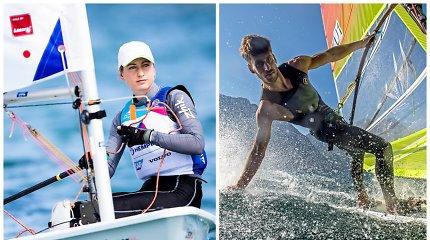 Tokijo olimpiadai besiruošiantys V.Andrulytė ir J.Bernotas startuoja Pasaulio taurės etape Majamyje