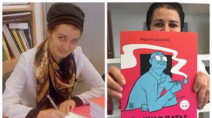 Pagal M.Anušauskaitės grafinį romaną apie A.J.Greimą bus kuriamas animacinis filmas