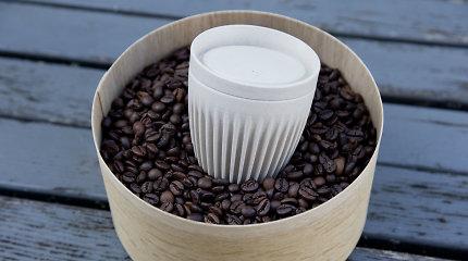 Planetos B nėra: vienkartinius puodelius keičia tvarūs, keramikinius – iš kavos pupelių lukštų pagaminti