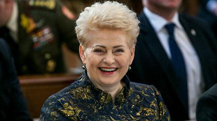 Iš viešumos pradingusi D.Grybauskaitė baigia įsikurti, planuoja veiklą nuo rudens