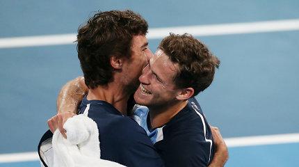 Paaiškėjo visos ATP taurės ketvirtfinalio dalyvės