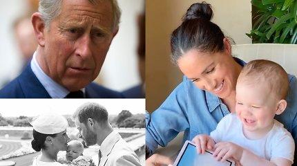 Princas Charlesas neleis anūkui Archie tapti princu: tai pablogino santykius
