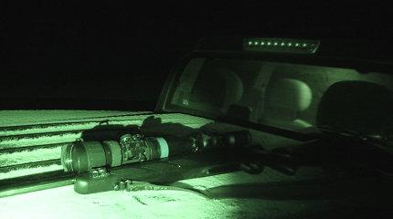 Teismas nepagailėjo su naktinio matymo prietaisu medžiojusio pasvališkio