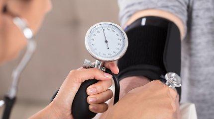 Netinkamai gydomas padidėjęs kraujo spaudimas gresia net mirtimi