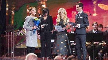 """""""Auksinių bičių"""" apdovanojimuose pagerbtos ne tik televizijos ir radijo žvaigždės"""