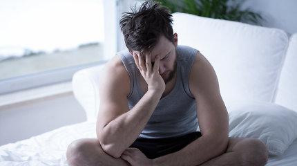Erekcijos sutrikimų patiria kone kas trečias vyras