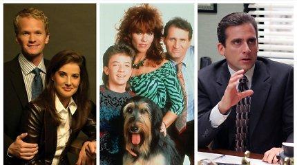 Testas serialų mėgėjams: ar pažinsite bent 12 iš šių 15-os situacijų komedijų?