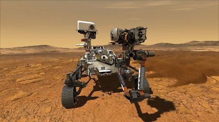 Tyrimas: Marse atrastos organinės molekulės – nežemiškos gyvybės pėdsakas?