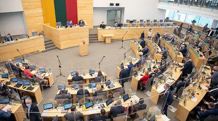 Seimo nariai per pusmetį parlamentinei veiklai išleido beveik 700 tūkst. eurų