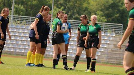 Lietuvos regbio merginų rinktinė pirmą kartą dalyvavo Europos čempionate