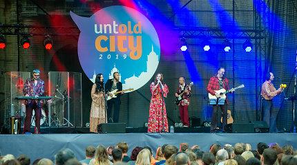 """Grupės """"Skylė"""" koncertas festivalyje """"Untold City"""""""
