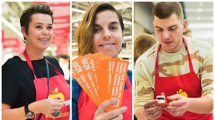 """Žinomi žmonės susivienijo kilniam tikslui: tapo 28-osios """"Maisto banko"""" akcijos savanoriais"""