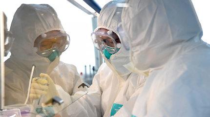 JAV spaudžia Kiniją: atnaujinta versija dėl COVID-19 kilmės kinų laboratorijoje