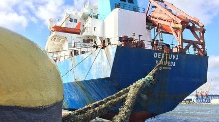 "LJL laivas ""Deltuva"" areštuotas Klaipėdoje"