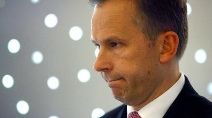 Į skandalą patekusio Latvijos banko vadovo atlyginimas vasarį – ketvirtadaliu mažesnis