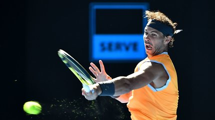 """R.Nadalis nepasigailėjo T.Berdycho – pateko į """"Australian Open"""" ketvirtfinalį"""