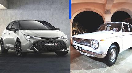 """""""Deals on Wheels"""". """"Toyota Corolla"""" istorija: kodėl šių automobilių parduota daugiausiai pasaulyje"""