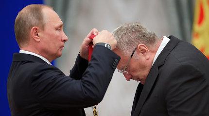 """Dėl S.Furgalo pyksta net Rusijos sisteminės opozicijos simbolis V.Žirinovskis: """"Mus laiko idiotais"""""""