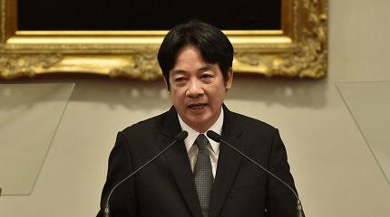 Kinija užsipuolė JAV dėl Taivano viceprezidento vizito Baltuosiuose rūmuose