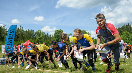 Lietuvos orientavimosi sporto čempionate – dalyvių gausa ir sekinantis karštis