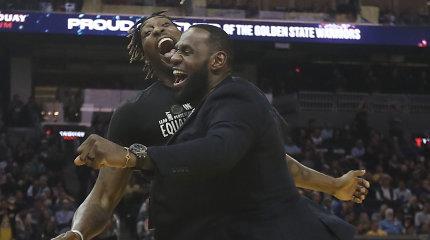 """Į pagalbą LeBronui: """"Lakers"""" veteranas NBA sezono pratęsime žais dėl kilnaus tikslo"""