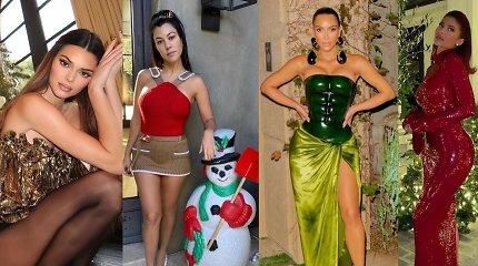 Trankų Kardashianų ir Jennerių Kalėdų vakarėlį pakoregavo koronavirusas: šventė be būrio garsenybių
