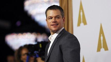 COVID-19 Holivude: virusu pandemijos pradžioje užsikrėtė aktoriaus Matto Damono dukra Alexia