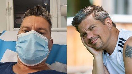 Dainininkas Deivis Norvilas ligoninės priimamajame: ten pateko po koncerto