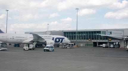 Varšuvos oro uostas rugpjūtį fiksavo keleivių rekordą nuo pandemijos pradžios
