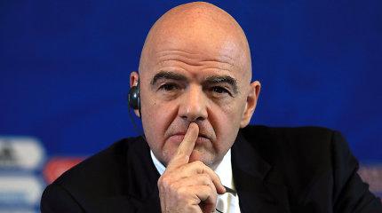 FIFA buldozeris įsibėgėja: dabartinei pasaulio čempionatų tvarkai – pavojus