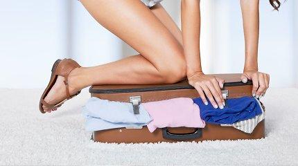 Kokius drabužius dėti į lagaminą? 7 deriniai vasaros atostogoms
