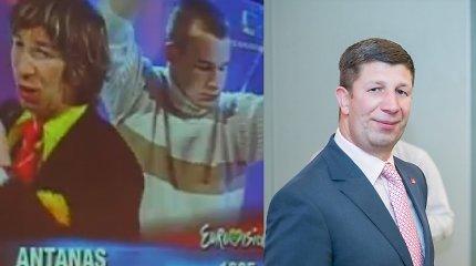 """""""Eurovizijos"""" scenoje A.Nedzinskui padėjęs šokėjas atsirado: vyrai kitąmet susitiks pirtyje"""