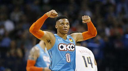 """""""Thunder"""" apsisprendė: sutiktų išmainyti Russellą Westbrooką"""