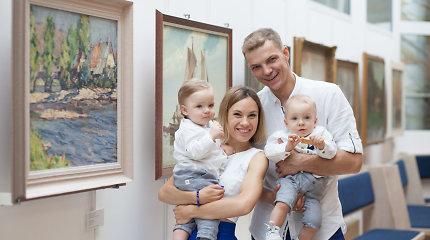 """Dvynius auginantis A.Grudinskis-Grūdas švenčia Tėvo dieną: """"Vaikų šypsena kompensuoja visą vargą"""""""