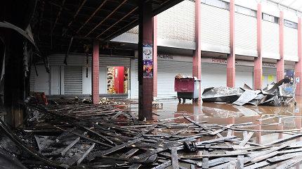 Prancūzijoje per atakos žydų prekybos centre metines sudegė košerinio maisto parduotuvė