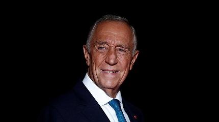 Portugalijos prezidentui atliktas naujas testas dėl COVID-19 – neigiamas