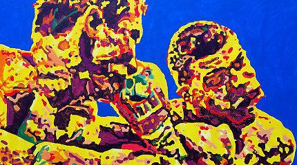 """""""Meno Niša"""" kviečia į menininko Kęstučio Grigaliūno parodą"""